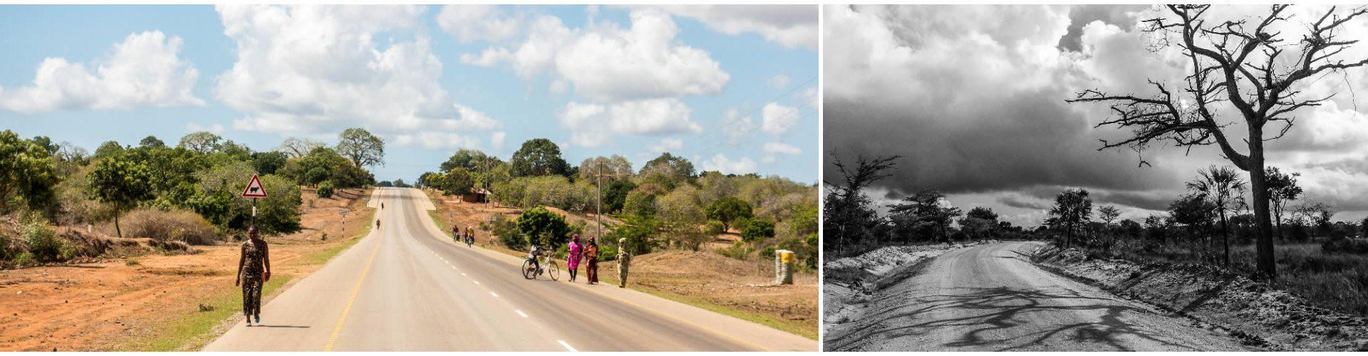 Statale per Dar es Salaam, Tanzania / Parco Nazionale Saadani
