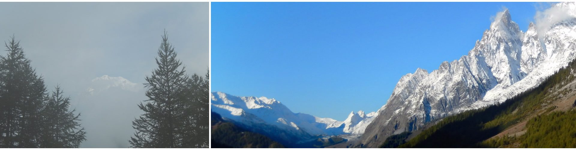 Il Bianco da Val Sapin. Il Bianco dal Malatrà.