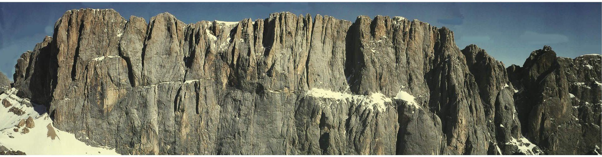 La parete Sud della Marmolada